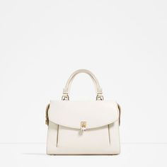 Image 2 of CITY BAG WITH PADLOCK from Zara