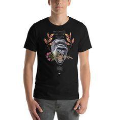 MIGHTY GORILLA Short-Sleeve Unisex T-Shirt » Litca Design My Design, Unisex, Sleeve, Mens Tops, T Shirt, Fashion, Manga, Supreme T Shirt, Moda
