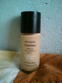 Base para piel grasa: Revlon ColorStay
