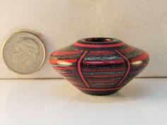 Brian Hart, Hartwood Turnings - applejack/pickguard segmented hollow vase