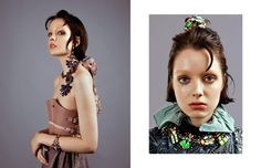 All Jewels / KONPLOTT Corsage / MARINA HOERMANSEDER Skirt / Sammler-Berlin Opposite Blouse / Chloé Jacket / Sammler-Berlin Jewels / KONPLOTT