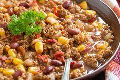 A sweet little twist on the classic turkey chili. Low Salt Recipes, Low Sodium Recipes, Chili Recipes, Diet Recipes, Healthy Recipes, Low Sodium Chili Recipe Easy, Low Sodium Soup, No Sodium Foods, Classic Chili Recipe