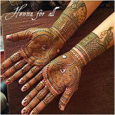 Bridal henna #henna #hennadesign