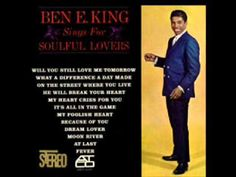 Ben E King He will break your heart Soul Music, Music Is Life, Day Of Tomorrow, Gerry Goffin, Ben E King, Tamla Motown, Love Moon, Carole King, R&b Soul
