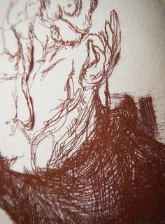 KAGE(Part) / Etching, Drypoint, Engraving 2013