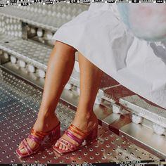 Be a pop of color! Eureka Shoes, Orange Pink, E Design, Color Pop, Lifestyle, Womens Fashion, How To Make, Footwear Brands, Bare Foot Sandals