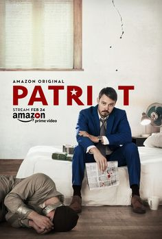 Patriot by Steve Conrad. Berlinale Special TV Series 10 episodes.  Poster.