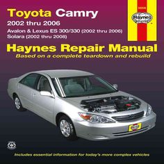 2005 toyota camry owners manual book guide owners manuals pinterest rh pinterest com 2002 Toyota Camry Starter Location toyota camry 2002 user manual pdf