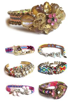 Vintage Twist on Friendship Bracelets