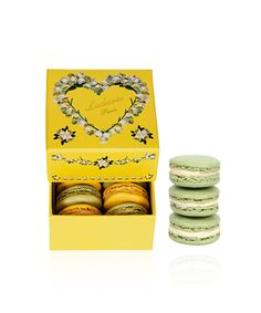 We can't get enough of the delicious macaroons from Ladurée, located on 864 Madison Avenue
