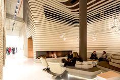 Contemporary Concept of Beograd Hotel by CRAFT reception corner 4