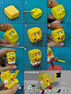 Lubiartes: Bob esponja biscuit