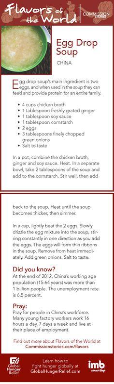 Asia: Egg Drop Soup