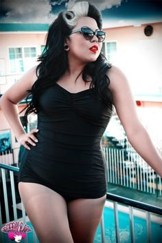 Plus Size : Model : Rockabilly : Pin Up
