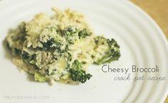 Cheesy Broccoli Crock Pot Recipe
