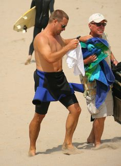Chris O'Donnell Pictures - NCIS: Los Angeles Films At The Beach - Zimbio