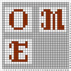 Welcome sign perler bead pattern (2/2) by uykkk