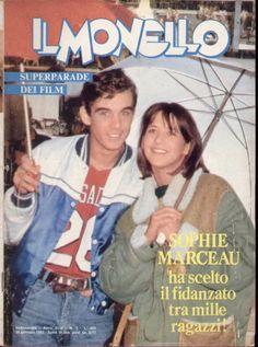 Sophie Marceau covers Il Monello magazine ( Italy ) 1983