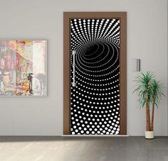 Door Sticker / Door Mural / Glass sticker / Door Wrap / Self-Adhesive Vinyl Decal / Fridge Decal model 221 by Printip on Etsy