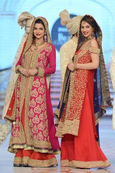 Pakistani Bridal Couture by Nauman Afreen