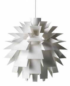 Jelanie: Norm 69 Lamp Large white by Normann Copenhagen