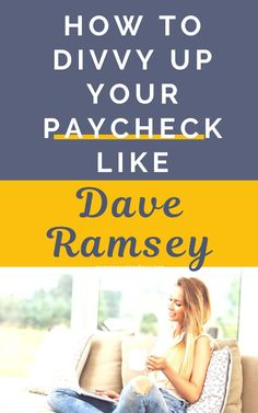 Are you struggling with how to budget your paycheck? Check out Dave Ramsey's recommended budgeting percentages to create a monthly budget that is simple yet effective. Budgeting Money | Budgeting Finances | How to Budget Your Money #mommanagingchaos #budget #money