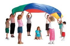Ah, parachute day. Whether you were a budding star elementary athlete or one of the designated indoor kids, the parachute was a universally. Preschool Music, Music Activities, Teaching Music, Preschool Activities, Teaching Resources, Summer Activities, Physical Activities, Teaching Ideas, Music Education