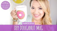 Who doesn't like doughnuts? If we can't eat it, at least we can enjoy looking at it! Ann show us how to make a plain mug into something delectable with some ...