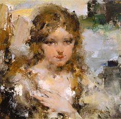 Портрет Ии (1923). Николай Фешин