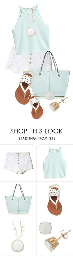 """""""Summer Shorts!! (OUTFIT ONLY!) (1)"""" by queenrachietemplateaddict ❤ liked on Polyvore featuring Hollister Co., Rebecca Minkoff and Meira T"""