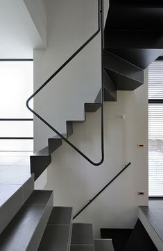 Cramped Or Not I Want To Live in These Tiny Japanese Houses Modern Staircase Cramped Houses Japanese live Tiny Staircase Handrail, Stair Railing Design, Staircases, Stairs Architecture, Interior Architecture, Steel Stairs, Narrow House, Modern Stairs, Stair Steps