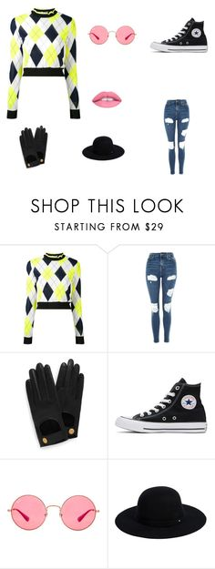 """""""Untitled #50"""" by elizabethsimmons-2 on Polyvore featuring MSGM, Topshop, Mulberry, Converse, Ray-Ban, Siggi and L.A. Girl"""