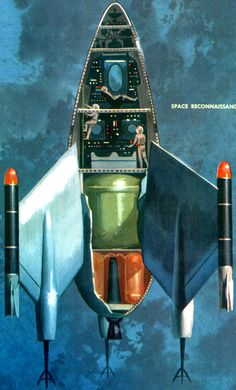 Deck Plans for Rocket Ships