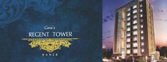 Gera Regent Tower- Pune Location: Baner-Wakad Area Sizes: 2337-2337sq ft Plans: 3 BHK Possession By: NA