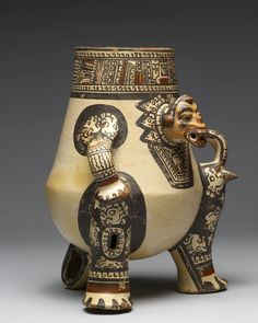 Effigy Vessel, Nicoya culture, Costa Rica, 1000-1350CE.