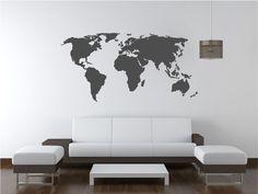 mapamundi pared niños - Buscar con Google
