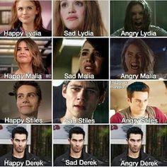Derek face!