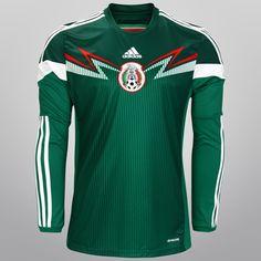 Camiseta Selección Fútbol México 2014. Local.