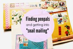 Where to find penpals and get into mail exchanges                                                                                                                                                                                 More