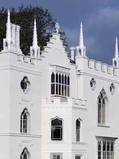 Gothic revivalist Strawberry Hill House, south west London