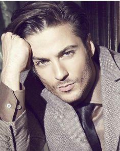 Hamid Fadaei is an Iranian model. He's also perfect for Raphael, the reluctant hero of Falling Angels.