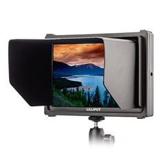 """Lilliput Q7 7"""" Full HD Camera Monitor with SDI and HDMI Cross Conversion Metal Housing High Resolution for Camcorder DSLR -- Click on the image for additional details."""