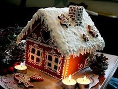 Very nice gingerbread house :)