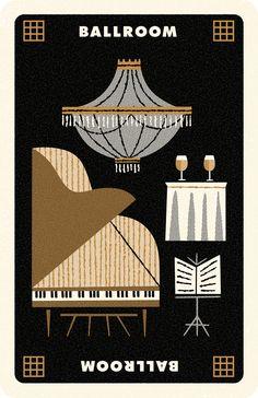 Clue Card Ballroom, Andrew Kolb