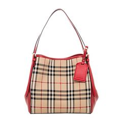 b5d4aa5b83fb Burberry Women s Small Canter in Horseferry Check and Lea... https