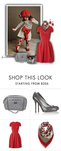 """Tiny Dancer"" by franceseattle ❤ liked on Polyvore featuring Trilogy, Chanel, Sergio Rossi, Valentino, Moschino Cheap & Chic and Meghna Designs"