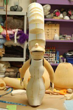 marge simpson puppet DSC_0010