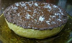 Pastel de coco y chocolate  en microhondas Breakfast Desayunos, Sin Gluten, Fondant, Sweet Tooth, Bakery, Deserts, Muffin, Pudding, Eat