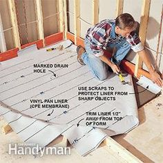 How To Build Shower Pans