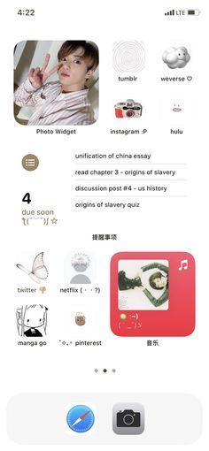 Lockscreen Ios, Iphone Wallpaper App, Android, Organize Phone Apps, Phone Themes, Iphone App Layout, Iphone Design, Phone Organization, Samsung